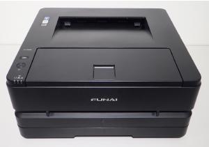 Monochrome laser beam printer